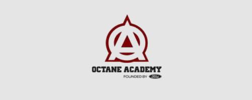 Logo của Ford Octane Academy được thiết kế bằng corel