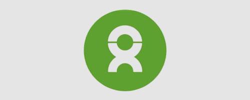 Logo của Oxfam được thiết kế bằng corel